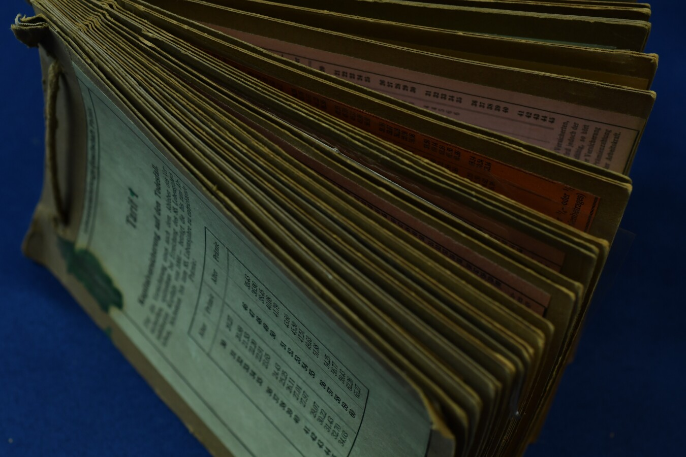 Застрахователен документ на немски език