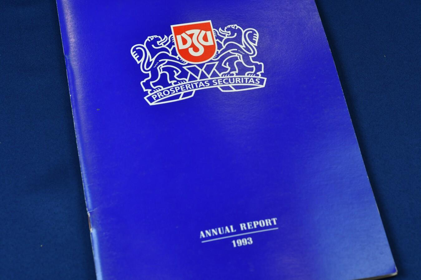 Годишен отчет, 1993 г.