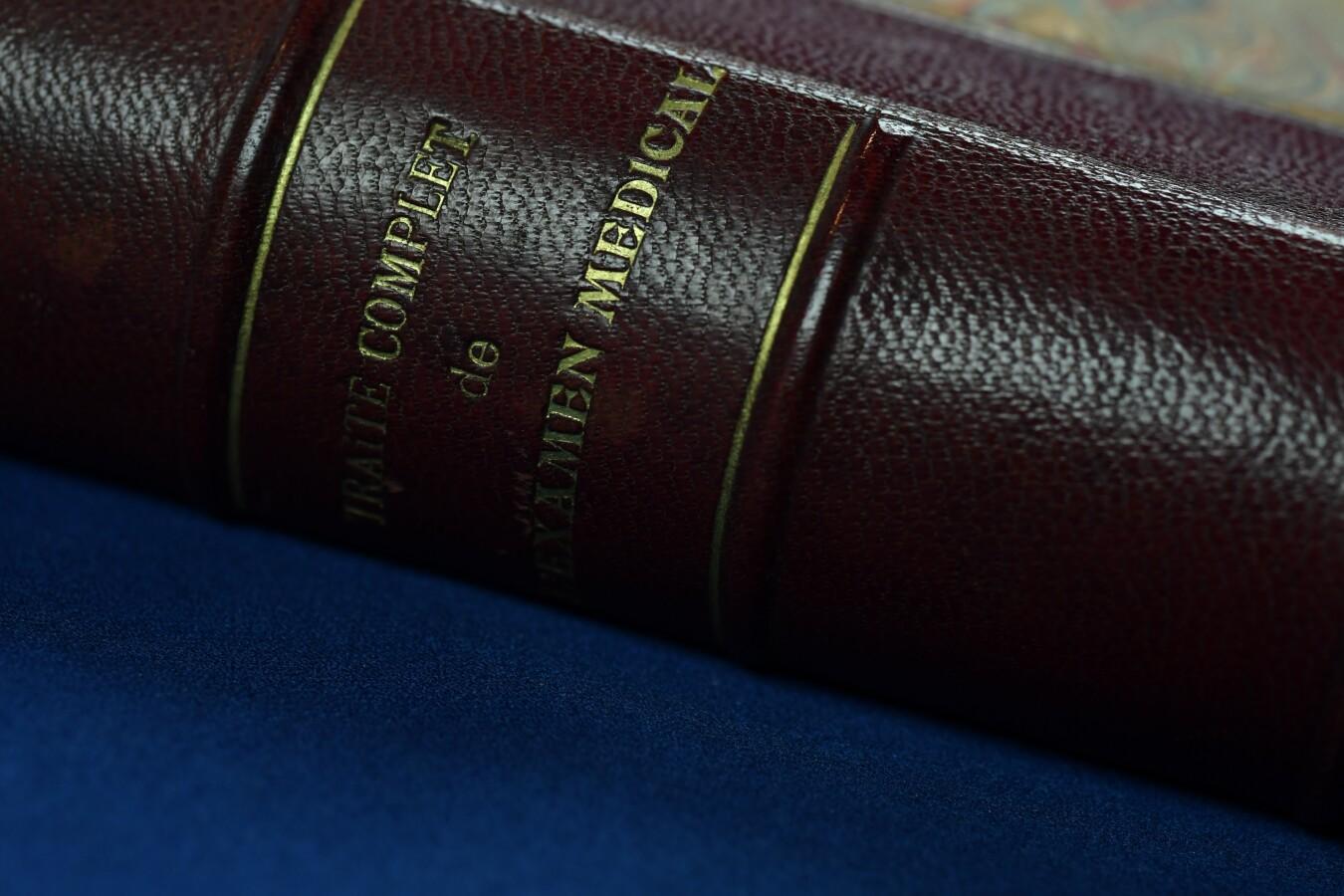 Френска застрахователна книга, 1887 г.